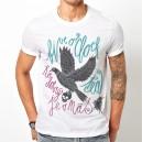 To dobrý je v nás - Pták - triko pánské bílé