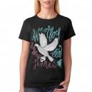 To dobrý je v nás - Pták - triko dámské černé