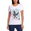 To dobrý je v nás - Pták - triko dámské bílé